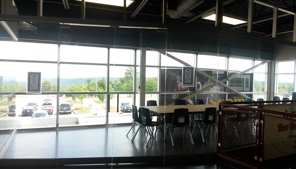 """Our beautiful new <a href=""""http://www.mohawk4icecentre.ca/rentals/community-room-rentals/"""" span style=""""color: #235a7f;""""><b><u>Community Room</a></b></u> -- Great for meetings, yoga sessions, birthday parties, etc!"""